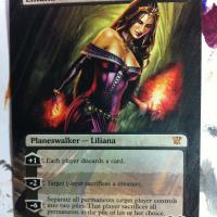 Liliana of the Veil alter #