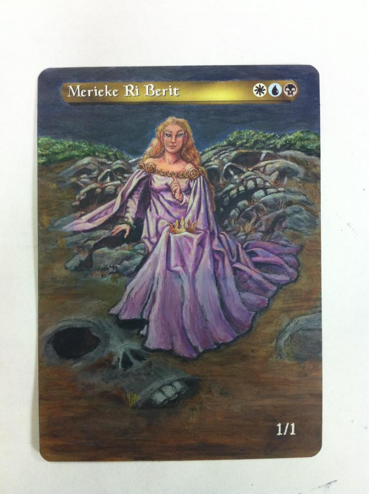 Merieke Ri Berit card alter by JB Alterz
