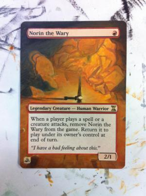 Norin the Wary alter #