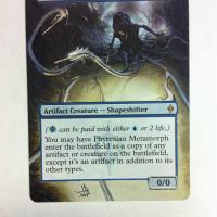 Phyrexian Metamorph alter #