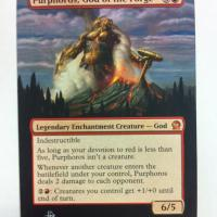 Purphoros, God of the Forge alter #