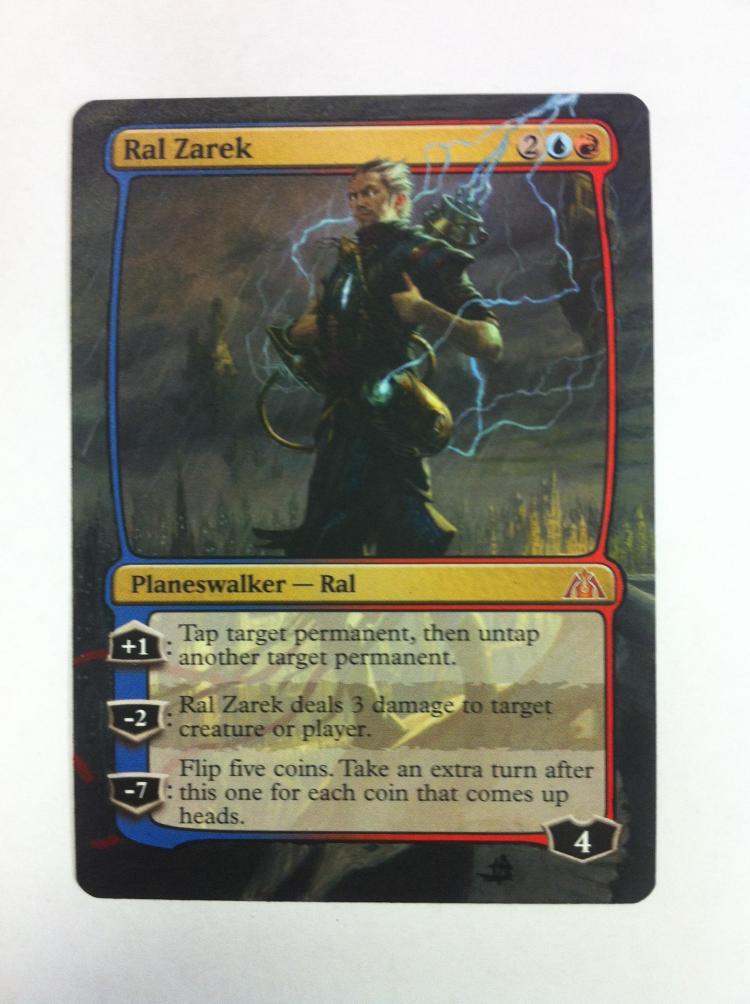 Ral Zarek card alter by JB Alterz