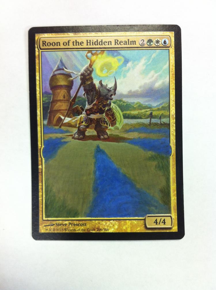 Roon of the Hidden Realm card alter by JB Alterz