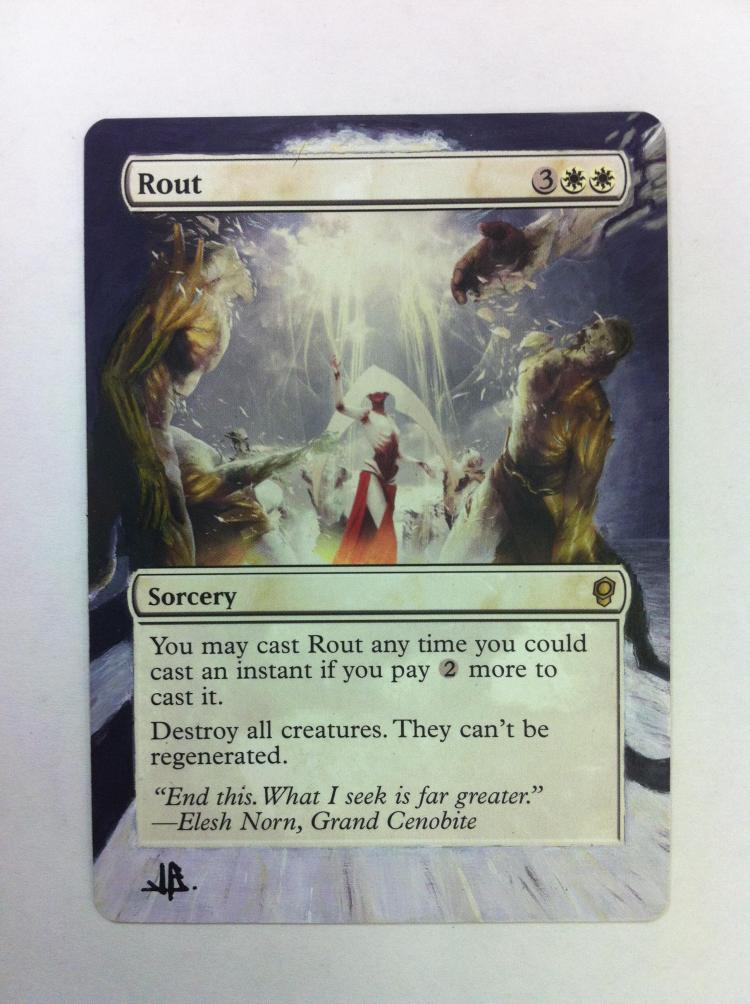 Rout card alter by JB Alterz