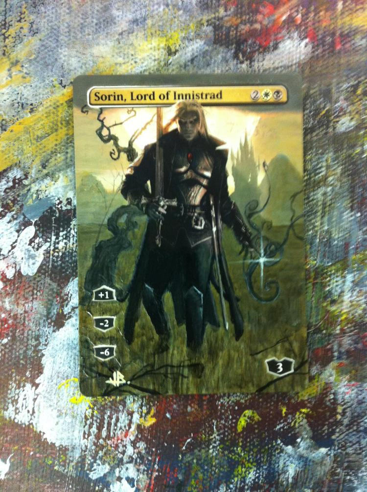 Sorin, Lord of Innistrad card alter by JB Alterz