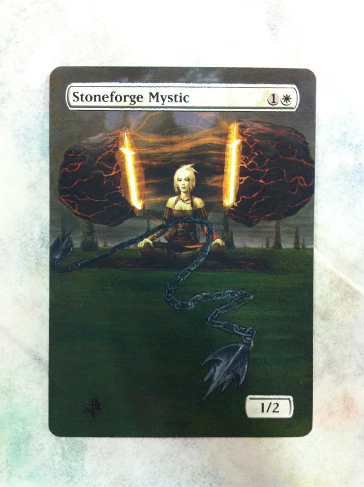 Stoneforge Mystic card alter by JB Alterz
