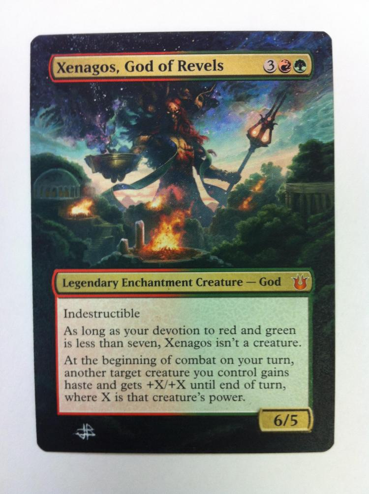 Xenagos, God of Revels card alter by JB Alterz