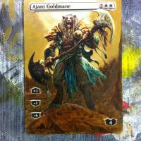 Ajani Goldmane alter #