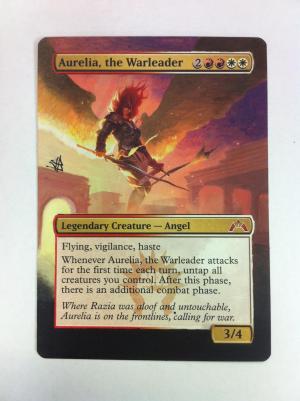 Aurelia, the Warleader alter #