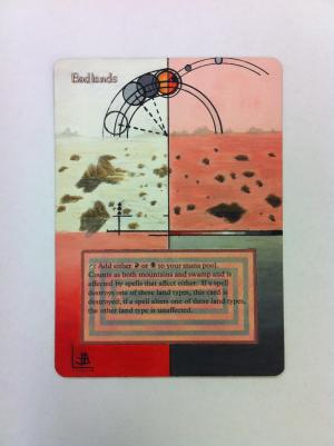 Badlands alter #