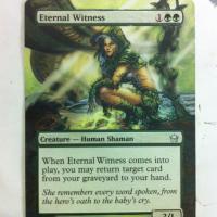 Eternal Witness alter #