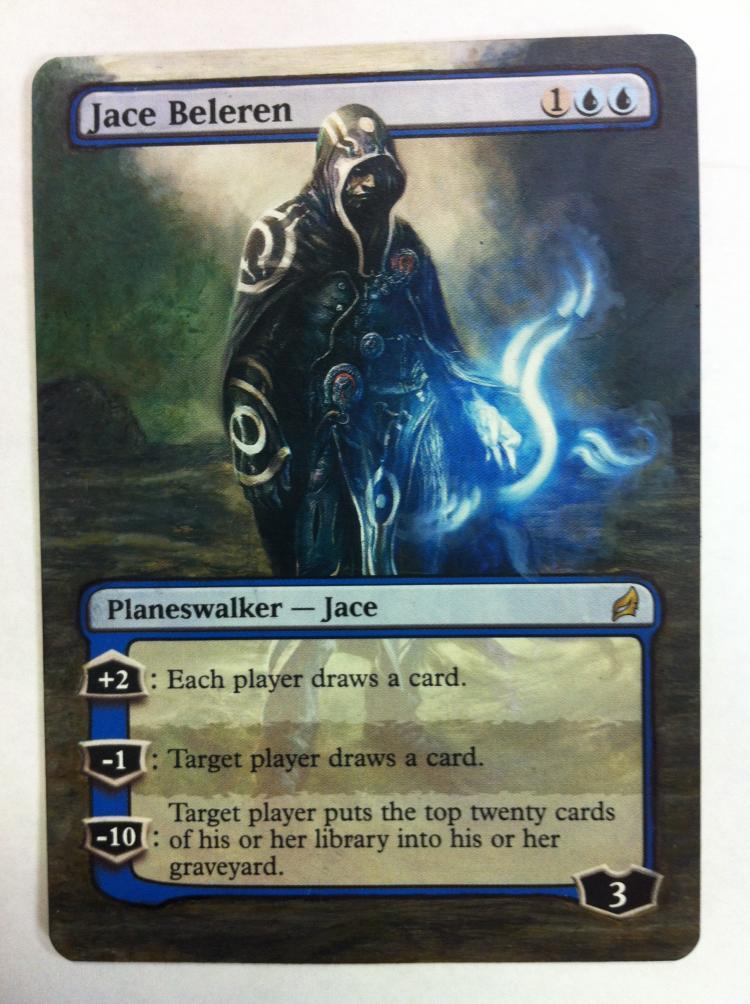 Jace Beleren card alter by JB Alterz
