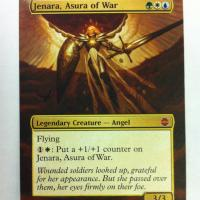 Jenara, Asura of War alter #
