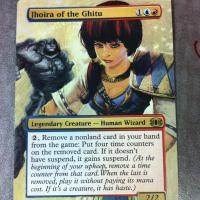 Jhoira of the Ghitu alter #