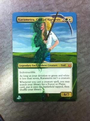 Karametra, God of Harvests alter #