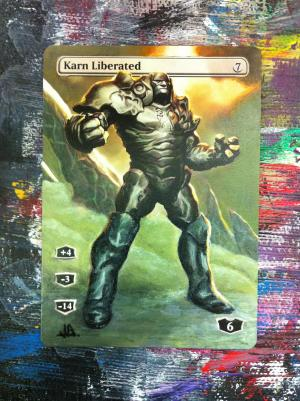 Karn Liberated alter #