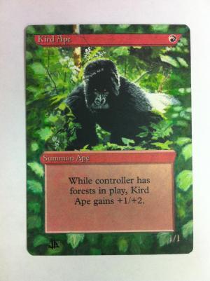 Kird Ape alter #