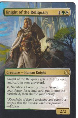 Knight of the Reliquary alter #