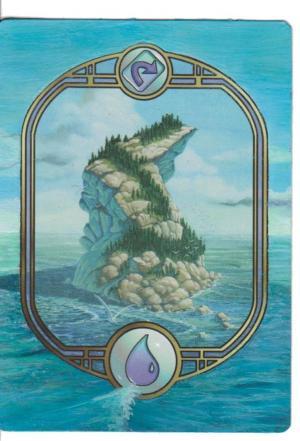 Island - Unglued alter #