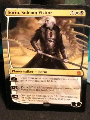 Sorin, Solemn Visitor alter #