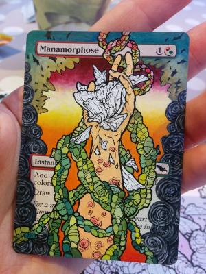 Manamorphose alter #