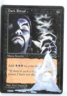 Dark Ritual alter #