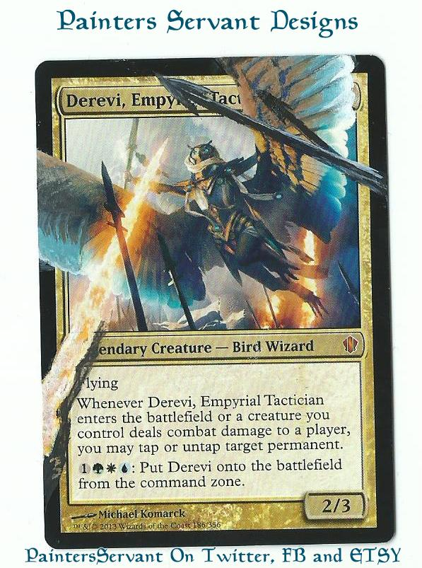 Derevi, Empyrial Tactician card alter by PaintersServant