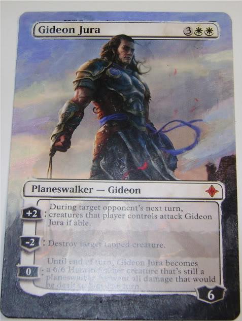 Gideon Jura card alter by PaintersServant