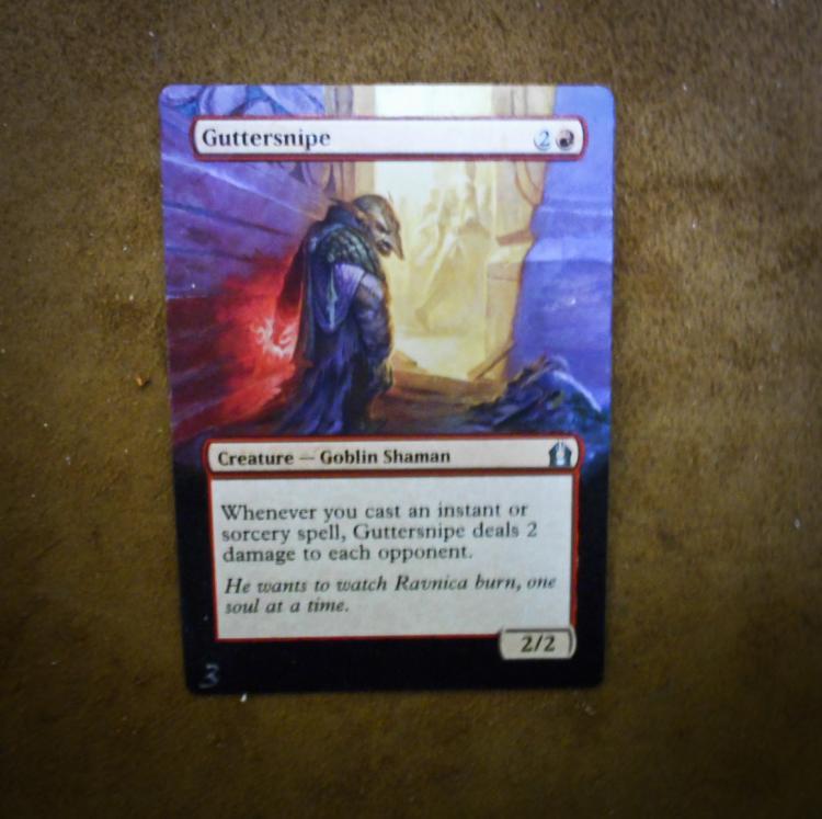 Guttersnipe card alter by PaintersServant