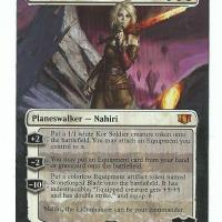Nahiri, the Lithomancer alter #