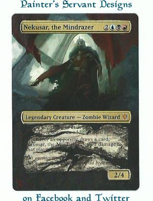 Nekusar, the Mindrazer card alter by PaintersServant