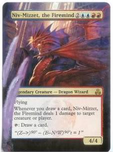 Niv-Mizzet, the Firemind alter #