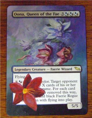 Oona, Queen of the Fae alter #