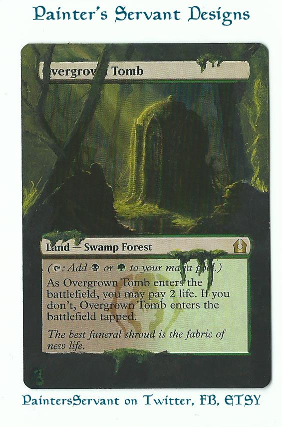 Overgrown Tomb card alter by PaintersServant