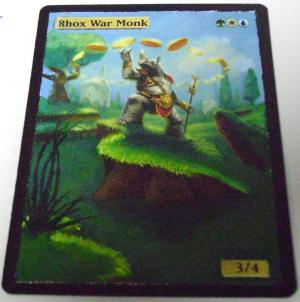 Rhox War Monk alter #