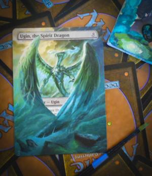 Ugin, the Spirit Dragon alter #