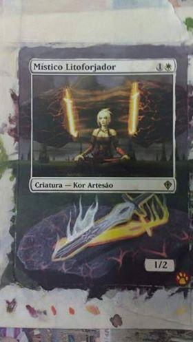 Stoneforge Mystic card alter by tutiwakalaka