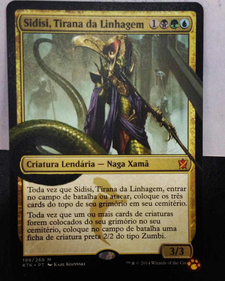 Sidisi, Brood Tyrant card alter by tutiwakalaka