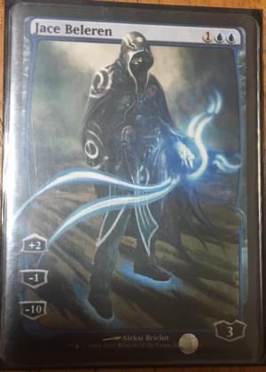 Jace Beleren Card Alter by jloths2