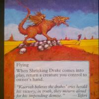 Shrieking Drake alter #