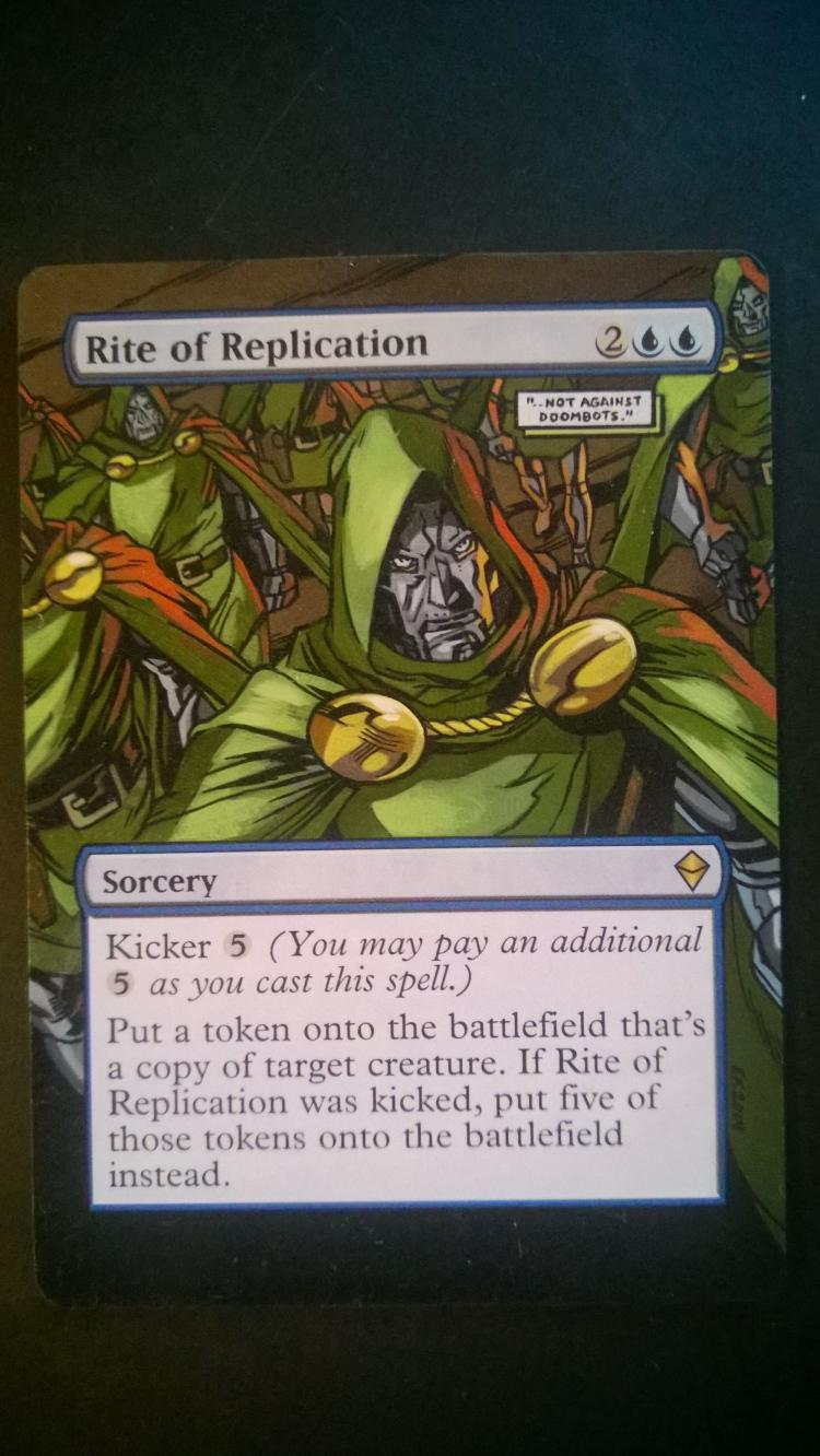 Rite of Replication card alter by NukeTheHippos