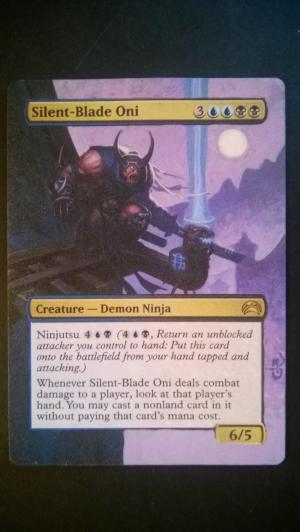 Silent-Blade Oni alter #