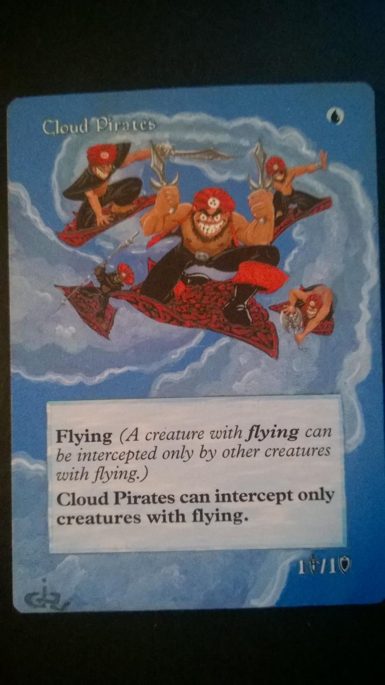 Cloud Pirates card alter by NukeTheHippos