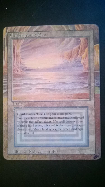 Underground Sea card alter by NukeTheHippos