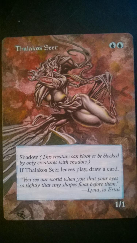 Thalakos Seer card alter by NukeTheHippos