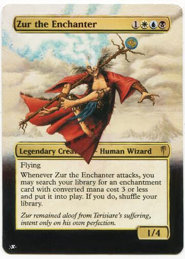Zur the Enchanter card alter by slaide