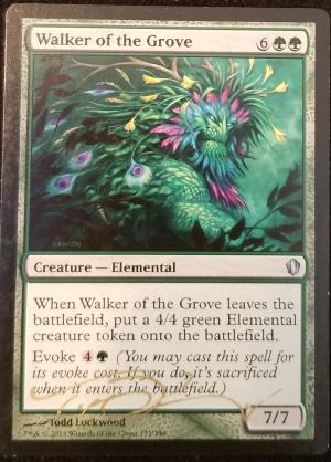 Walker of the Grove alter #
