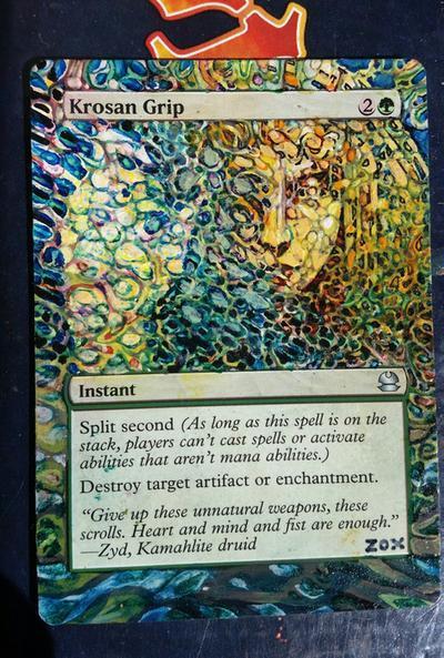 Krosan Grip card alter by seesic