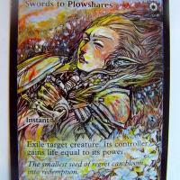 Swords to Plowshares alter #