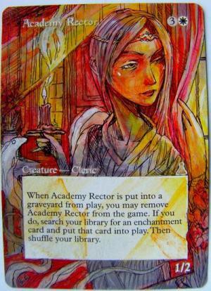Academy Rector alter #